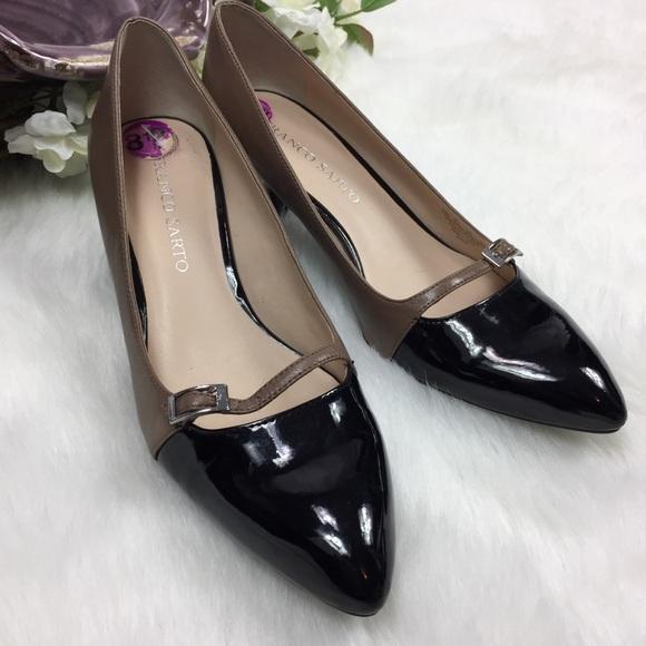 4455f8d961a Franco Sarto Shoes - Franco Sarto Heels Leather Patent Classic Pumps